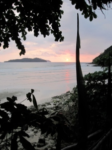 Sunset at Treehouse, Long Beach, Koh Chang