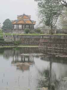 Lakeside pavilion, Forbidden Purple City, Hue, Vietnam
