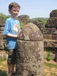 Z with linga, My Son, Vietnam