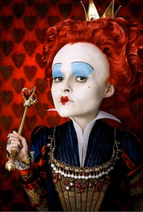 The Red Queen from Tim Burton's Alice in Wonderland