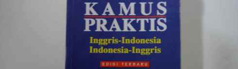 cover of Indonesian-English dictionary: Kamus Praktis Indonesia-Inggris Inggris-Indonesia Edisi Terbaru