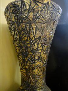 gold vase in sultan's palace, kota ternate, maluku