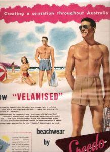 1940s Australian Speedo ad.
